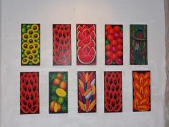 Artwork located in the Santa Domingo Hotel