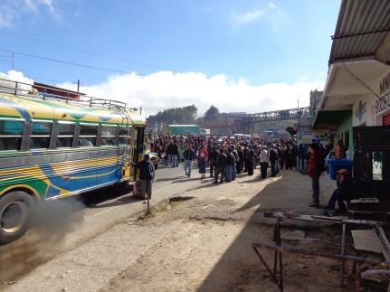 Guatemalan Teachers Protest