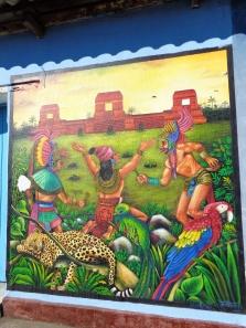 Wall Mural in San Juan, La Laguna