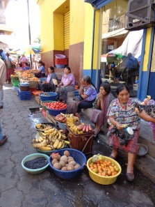Market in Santiago, Lake Atitlán