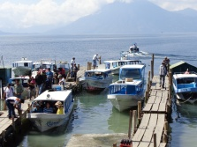 Ferry dock in Panajachel